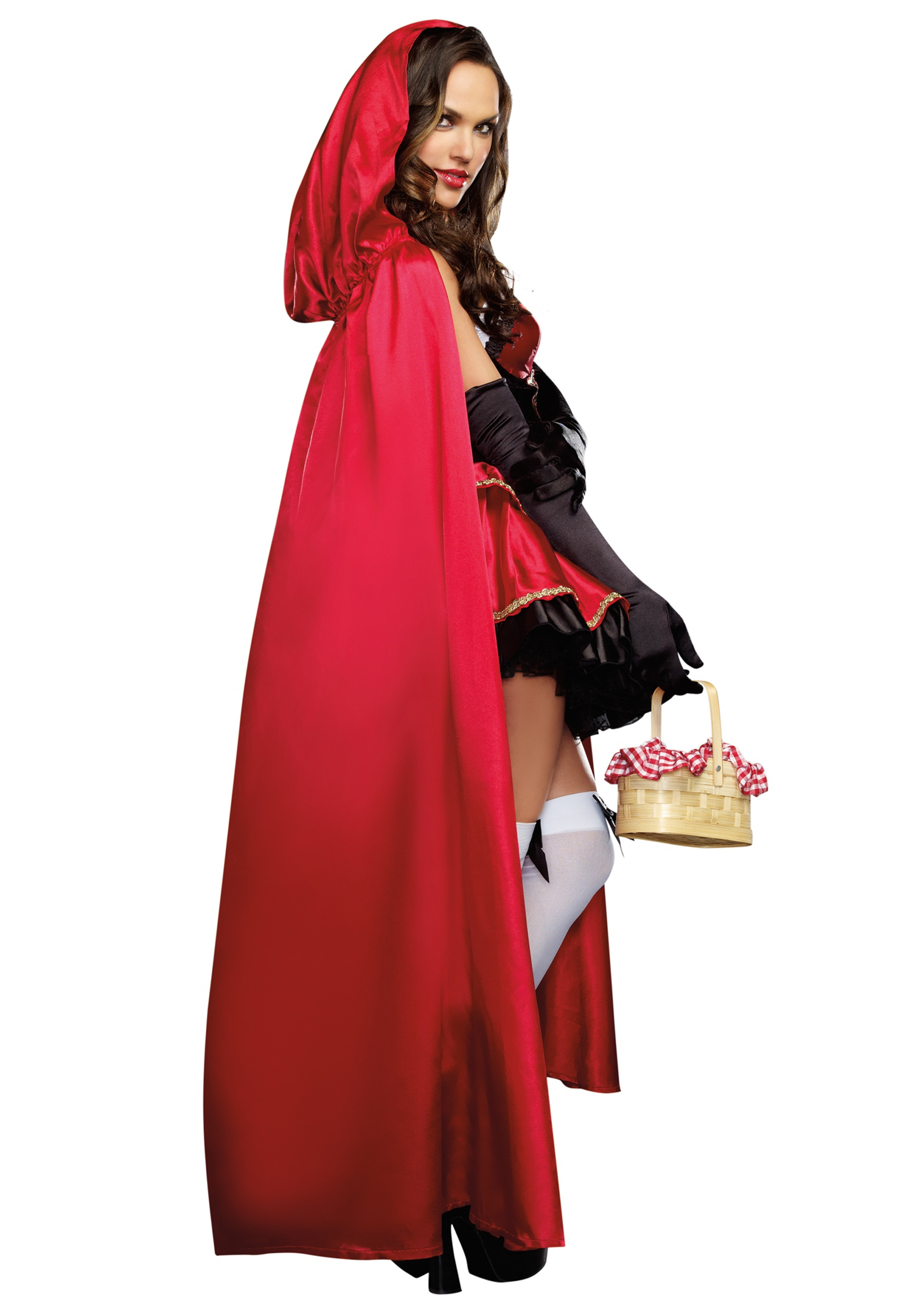Womens little red costume image 2
