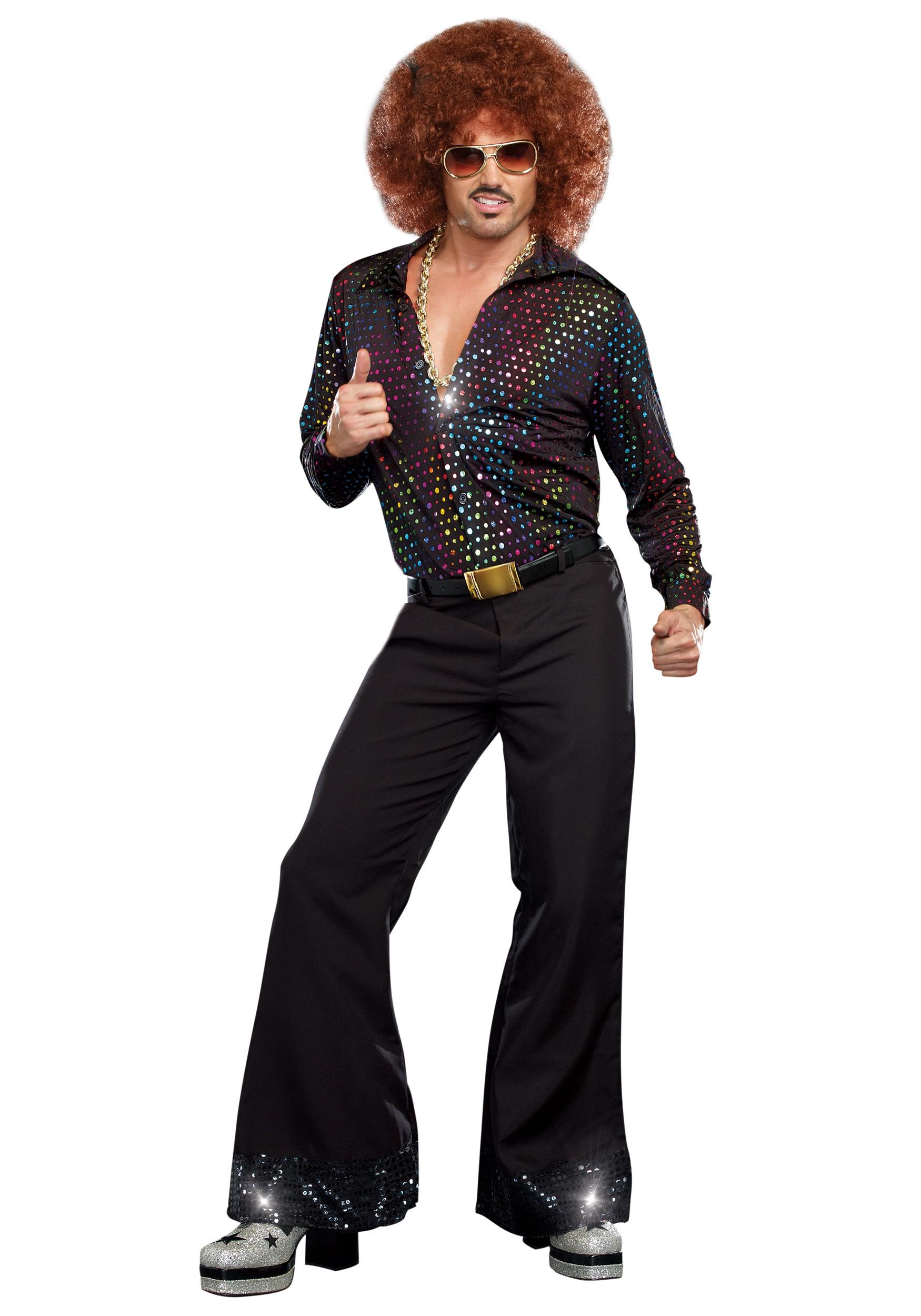 excellent disco outfit for men women
