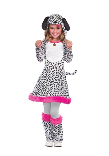 Click Here to buy Girls Dalmatian Costume from HalloweenCostumes, USA Funds & Shipping