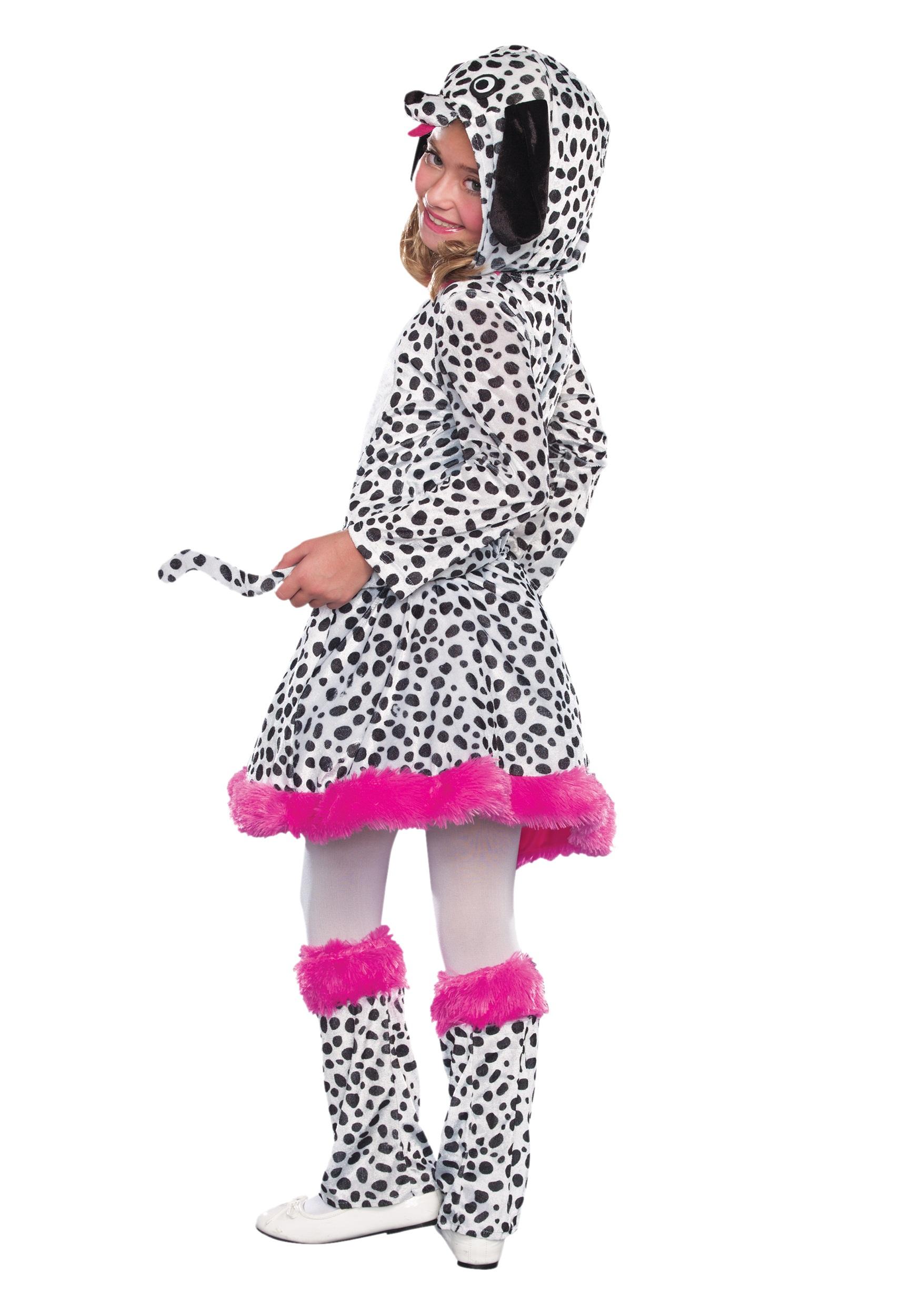 Girls Dalmatian Costume Girls Dalmatian Costume Alt1  sc 1 st  Halloween Costumes & Girls Dalmatian Costume