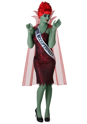 Plus Size Miss Dead Receptionist Costume