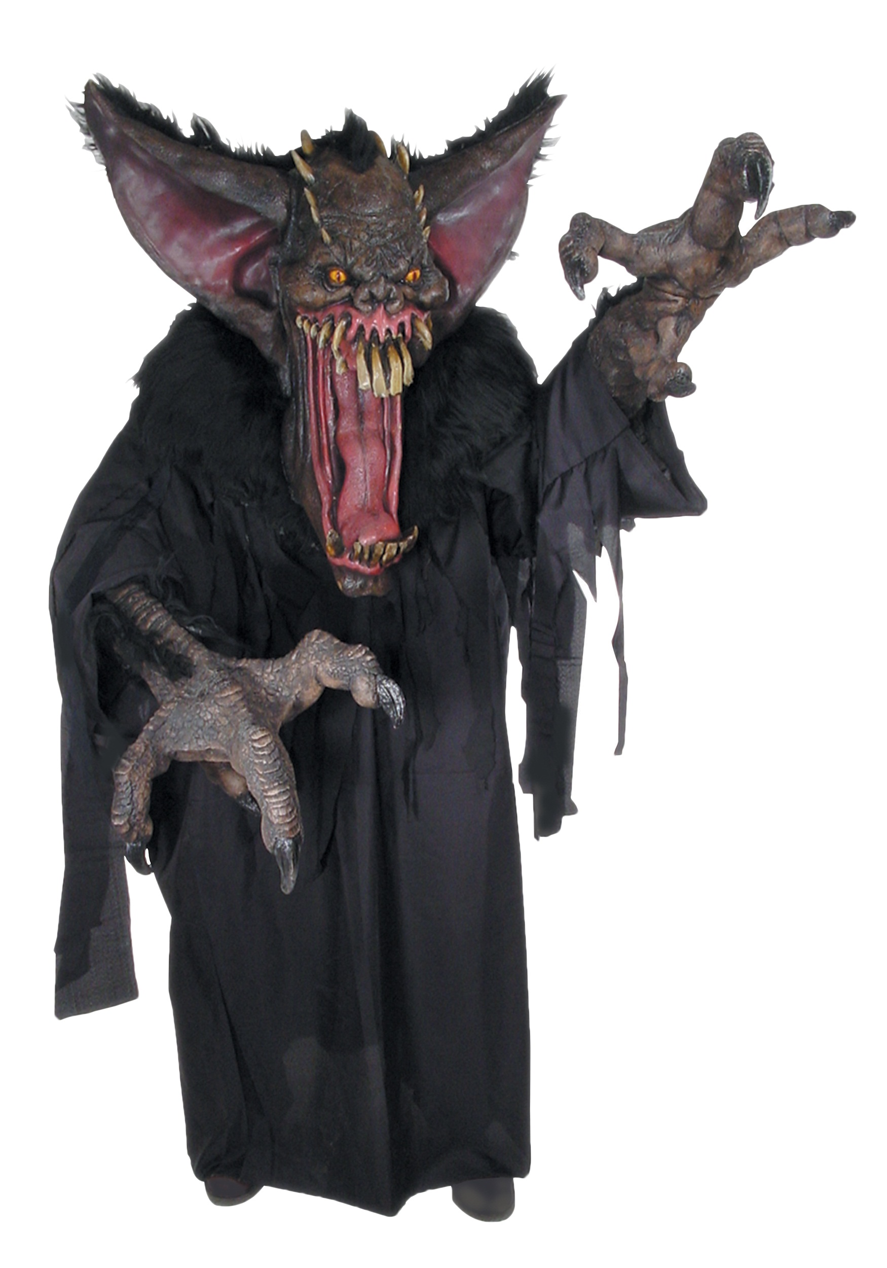 Expensive Masks For Halloween.Gruesome Bat Creature Reacher Costume