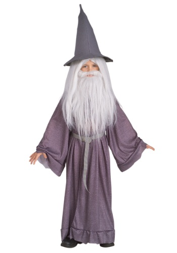 Click Here to buy The Hobbit Kids Gandalf Costume from HalloweenCostumes, USA Funds & Shipping