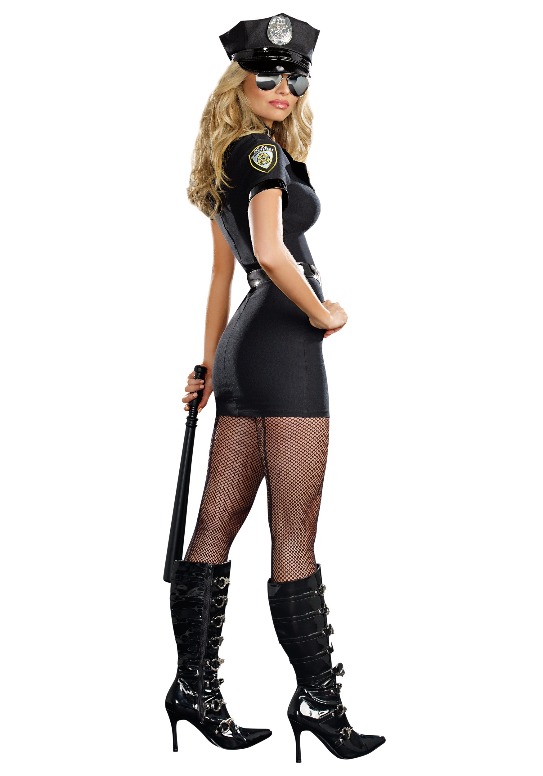 Womens Officer Anita Bribe Costume-5029