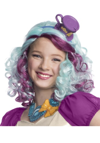 Click Here to buy Madeline Hatter Wig with Headpiece from HalloweenCostumes, CDN Funds