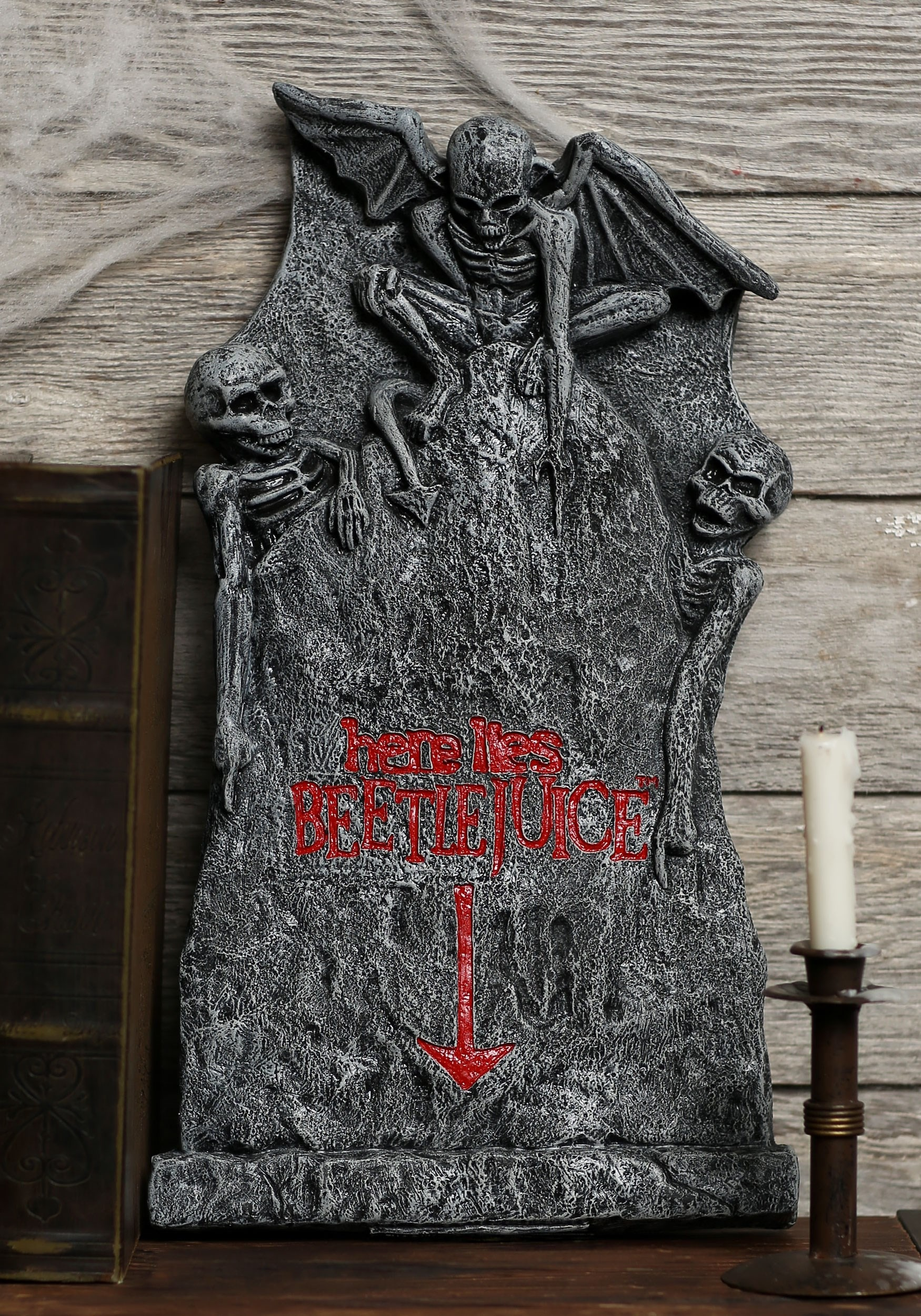 999 more details beetlejuice small tombstone