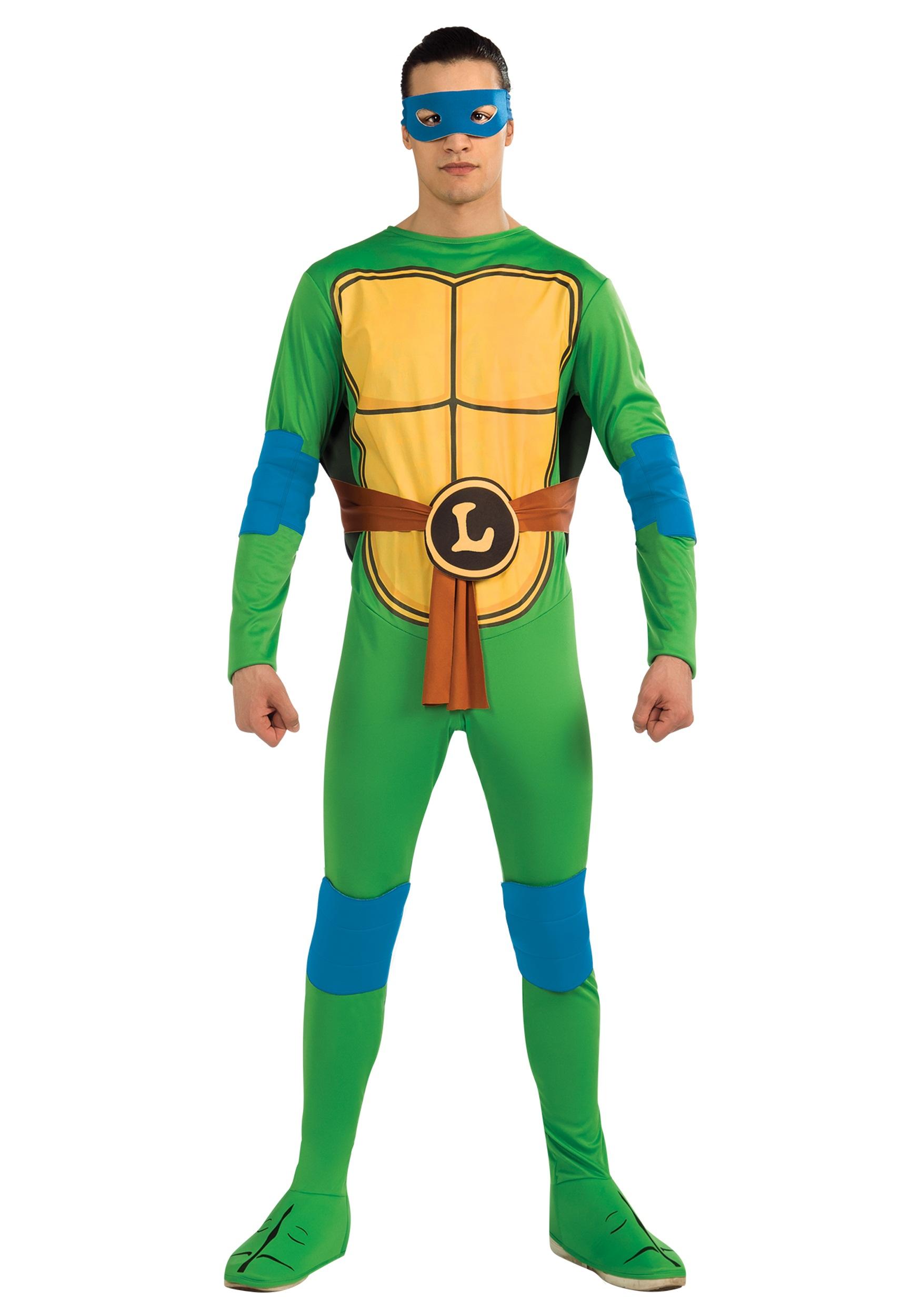 Adult Classic TMNT Leonardo  Ninja Turtles Costumes Baby