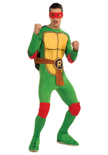 Click Here to buy Classic Adult TMNT Raphael Costume from HalloweenCostumes, CDN Funds