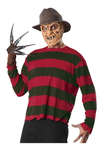 Adult Freddy Krueger Costume Kit By: Rubies for the 2015 Costume season.