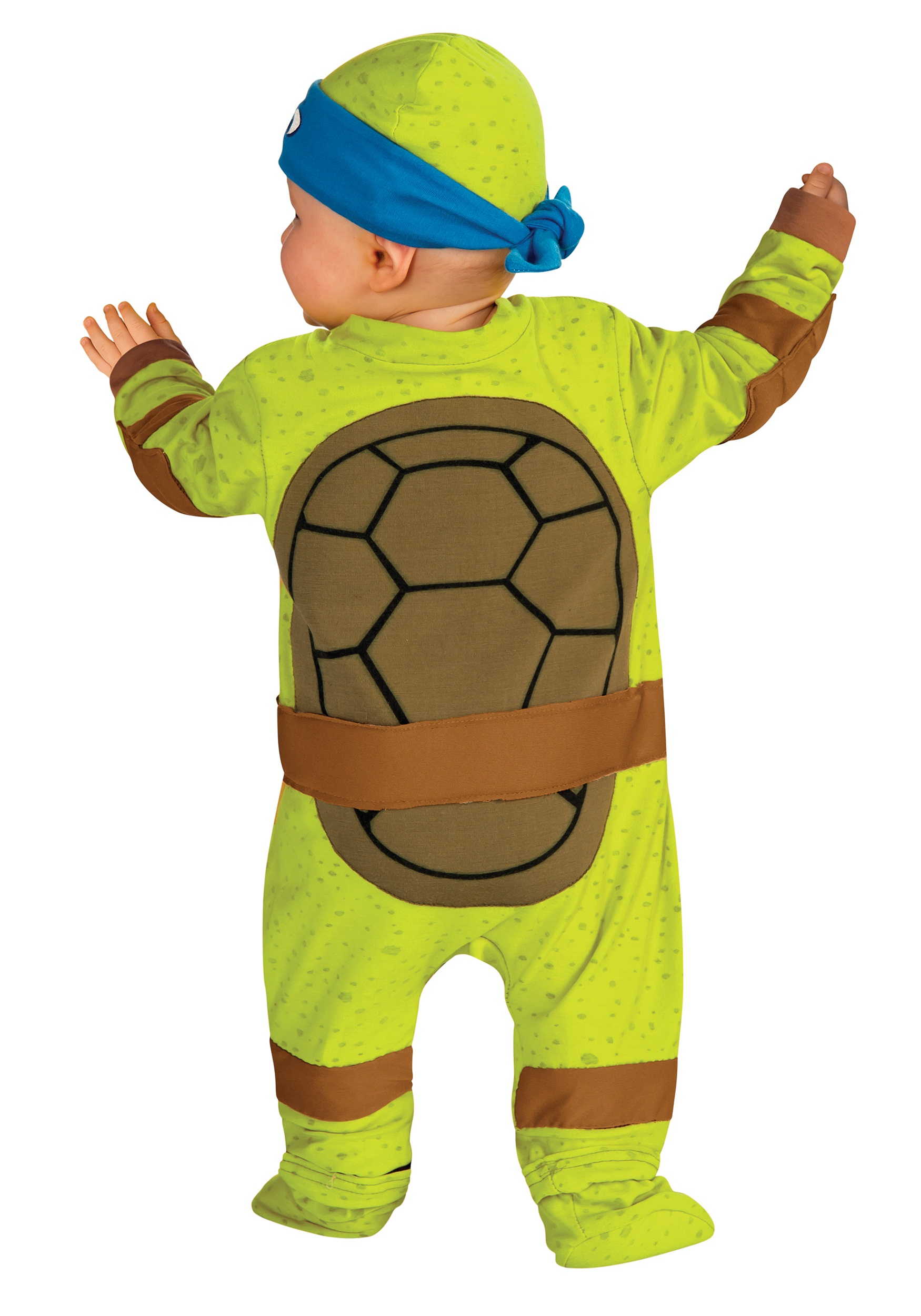 infant ninja turtle jumper blue infant ninja turtle jumper alt - Teenage Mutant Ninja Turtles Halloween Costumes For Kids