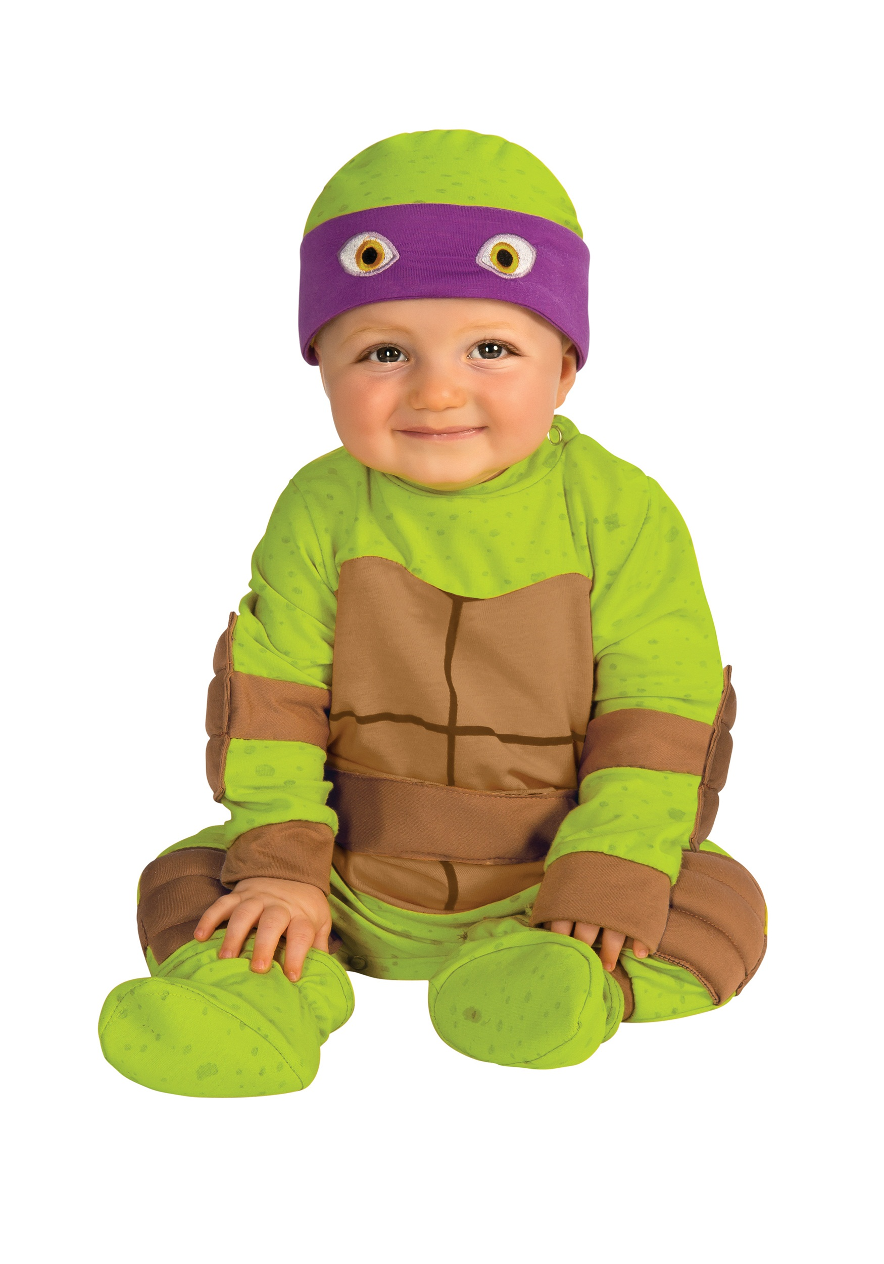 ... Infant Ninja Turtle Jumper Purple Mask ...  sc 1 st  Halloween Costumes & Infant Ninja Turtle Jumper