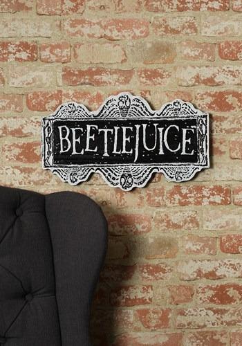 Beetlejuice Sign Update