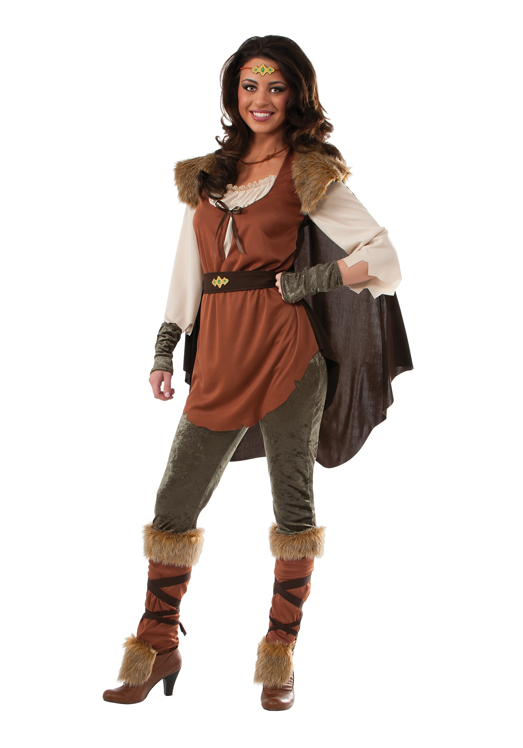 Womens Forest Princess Costume  sc 1 st  Halloween Costumes & Viking Costumes u0026 Warrior Outfits - HalloweenCostumes.com