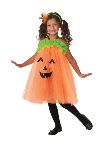 Pumpkin Tutu Costume Dress