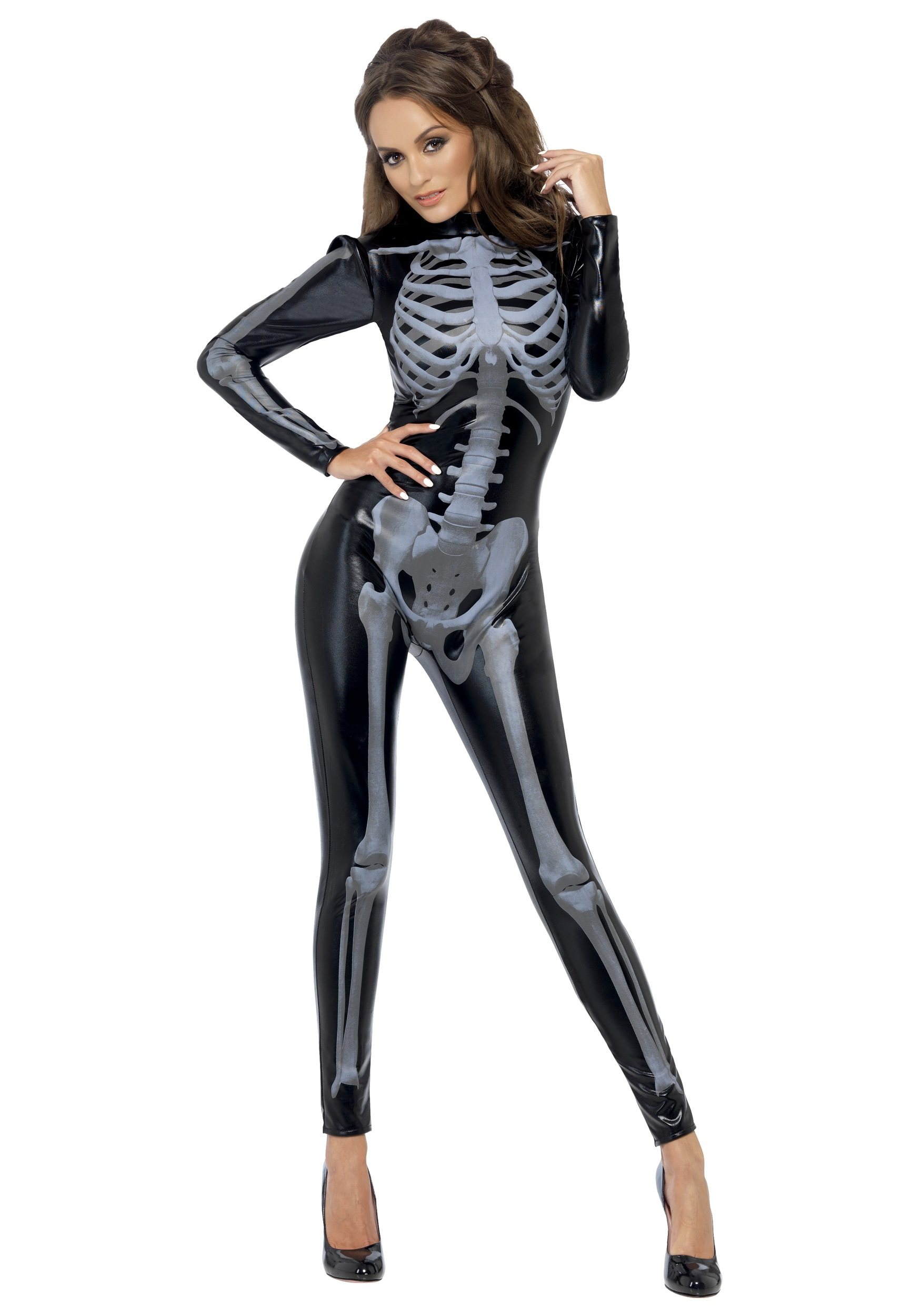Sexy skeleton jumpsuit