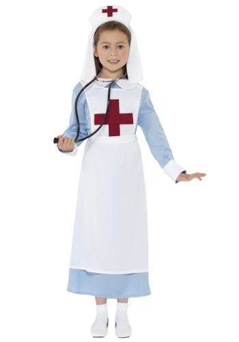 Girls WWI Nurse Costume By: Smiffys for the 2015 Costume season.