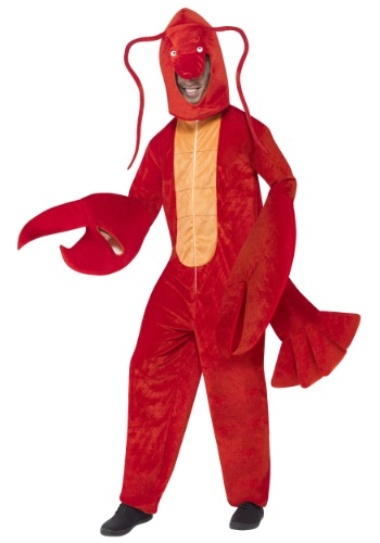 Adult Red Lobster Costume By: Smiffys for the 2015 Costume season.