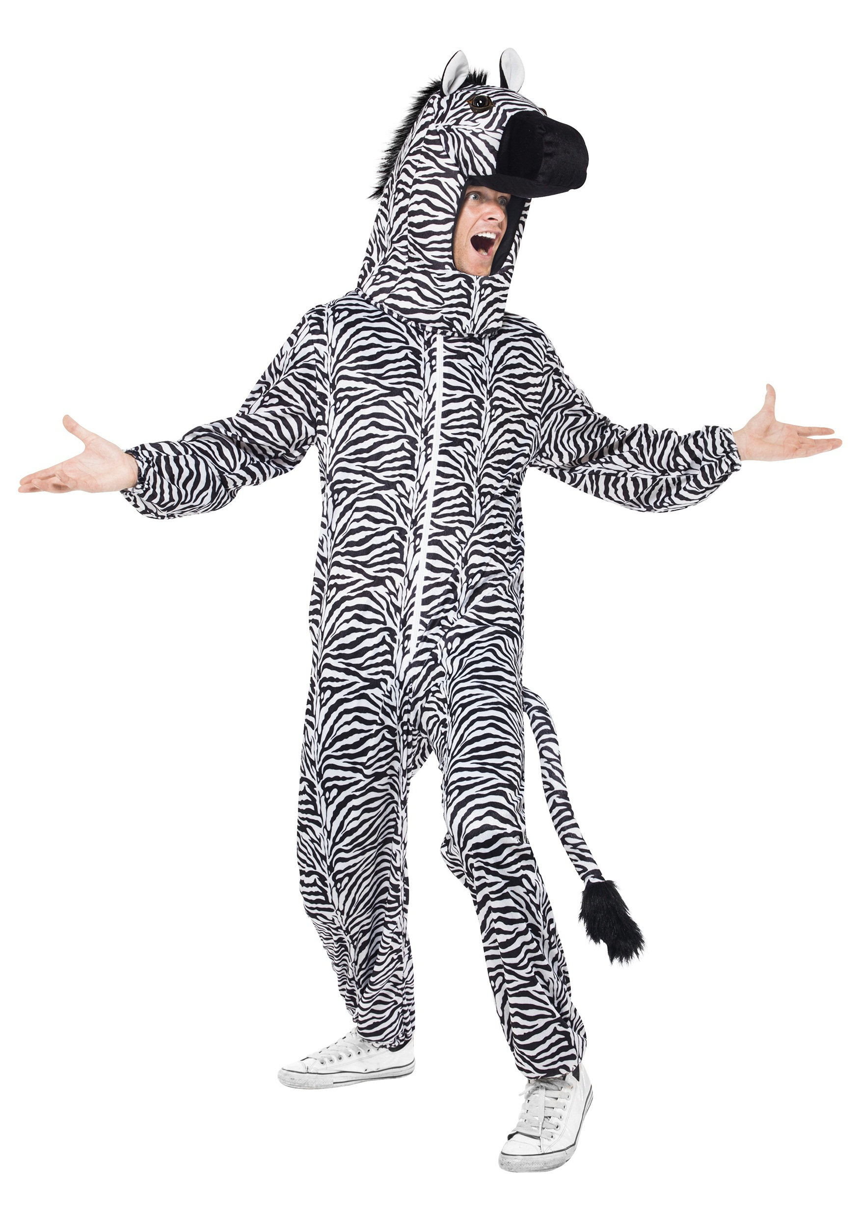 sc 1 st  Halloween Costumes & Zebra Costume For Adults