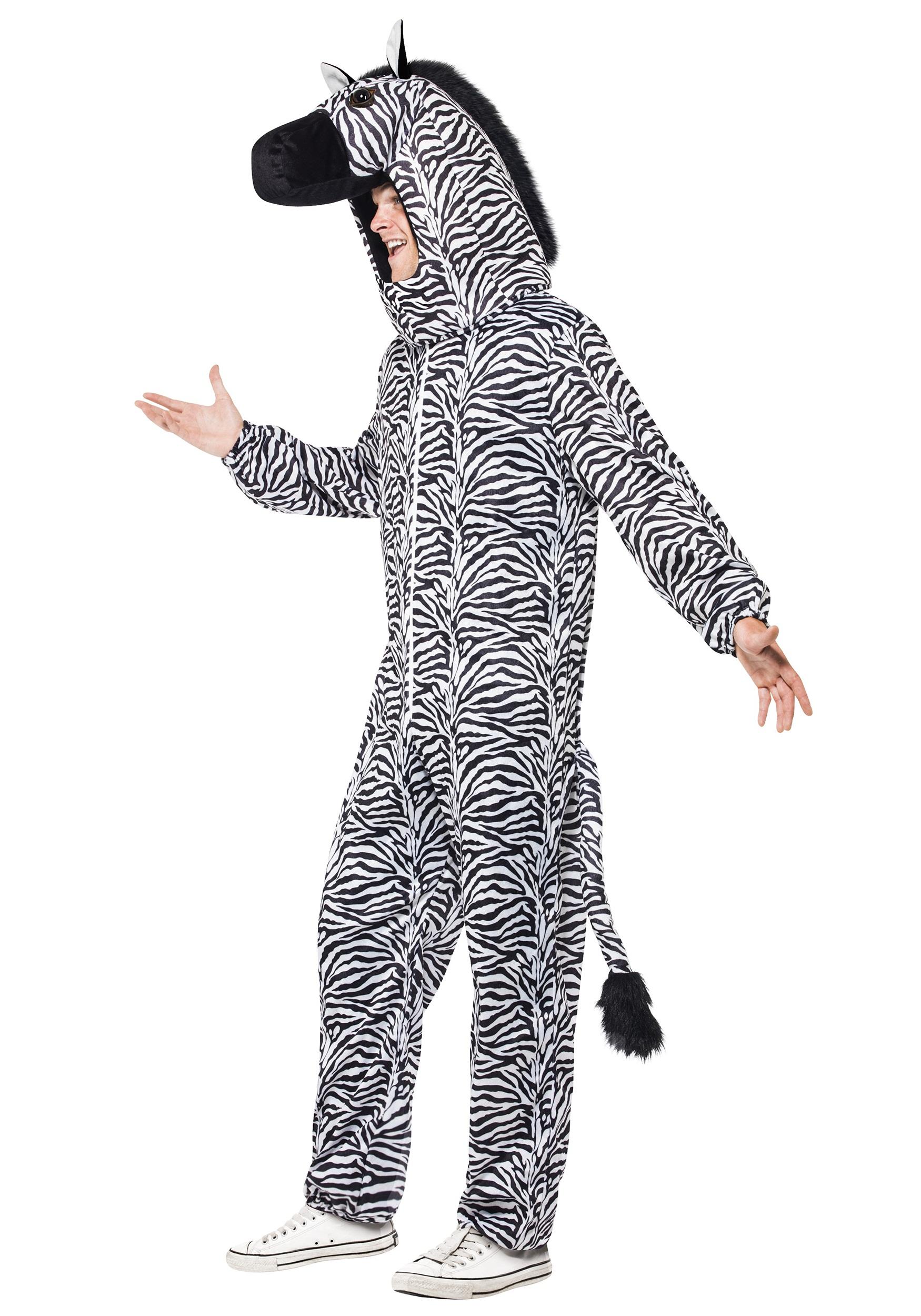 ... Zebra Costume For Adults side  sc 1 st  Halloween Costumes & Zebra Costume For Adults