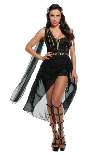 Click Here to buy Womens Dark Goddess Costume from HalloweenCostumes, USA Funds & Shipping