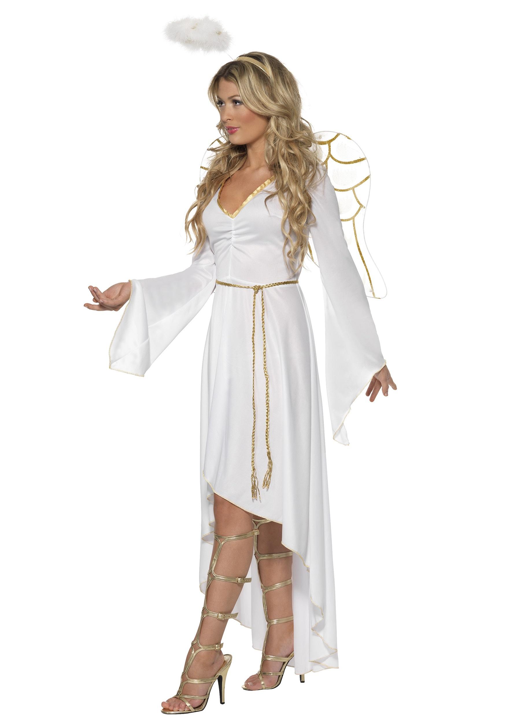 Как сделать новогодний костюм ангела своими руками