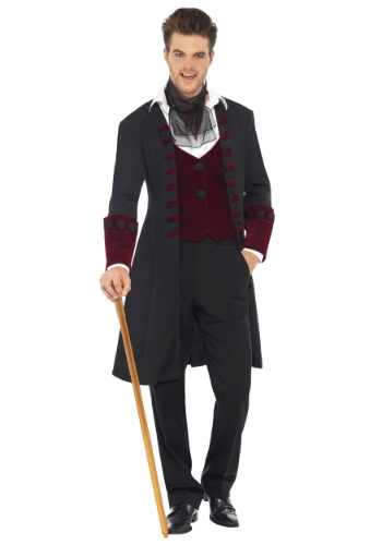 Men's Gothic Vampire Costume By: Smiffys for the 2015 Costume season.