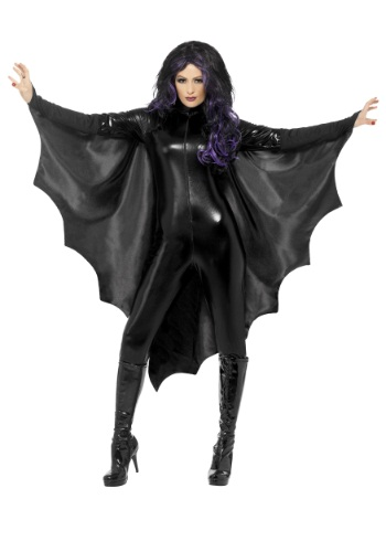 Adult Black Bat Wings By: Smiffys for the 2015 Costume season.