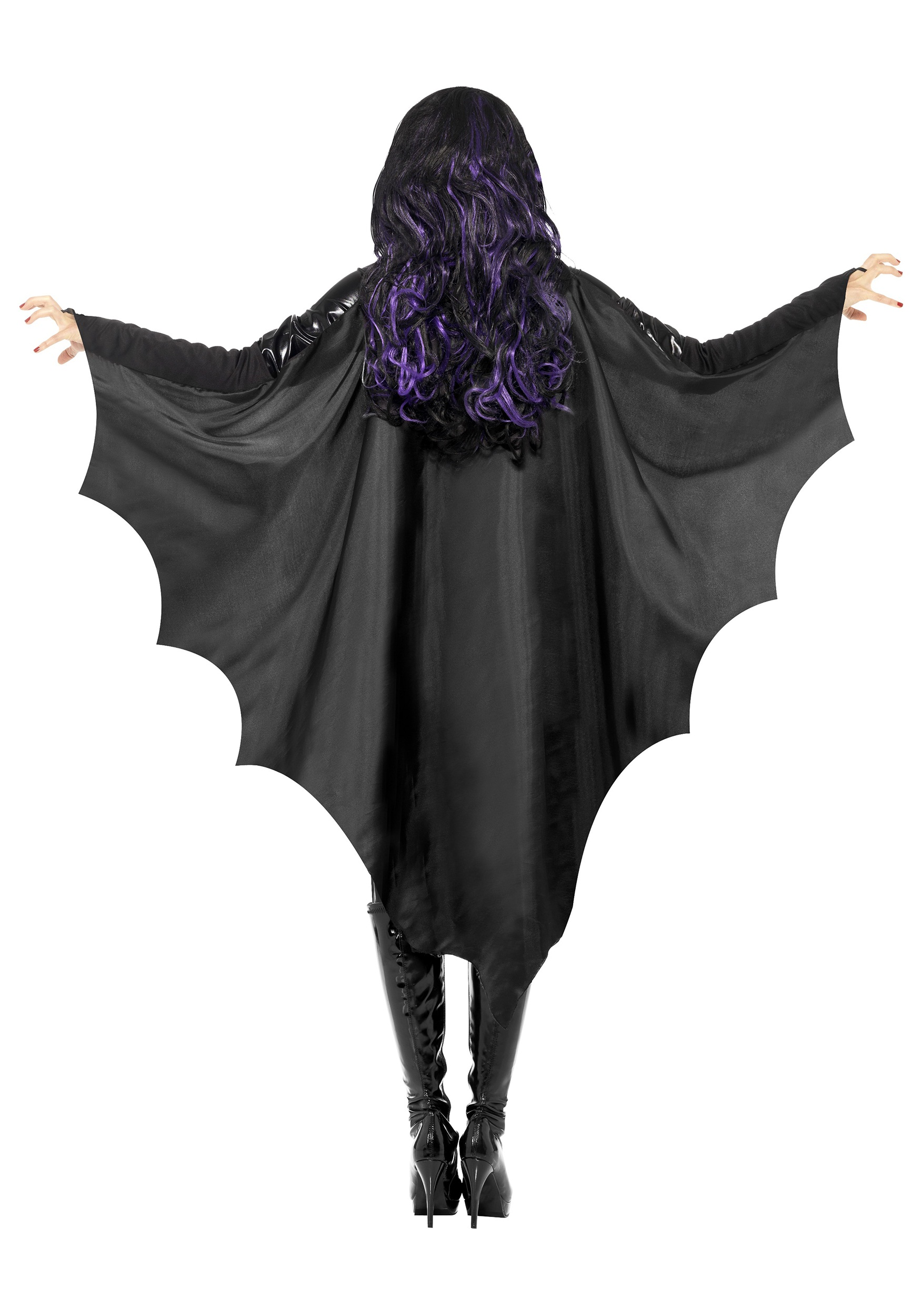 adult black bat wings