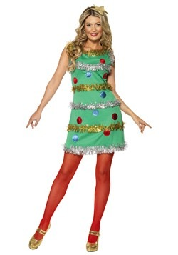 Womens Christmas Tree Dress