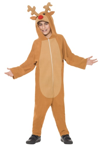 Click Here to buy Kids Reindeer Costume from HalloweenCostumes, USA Funds & Shipping