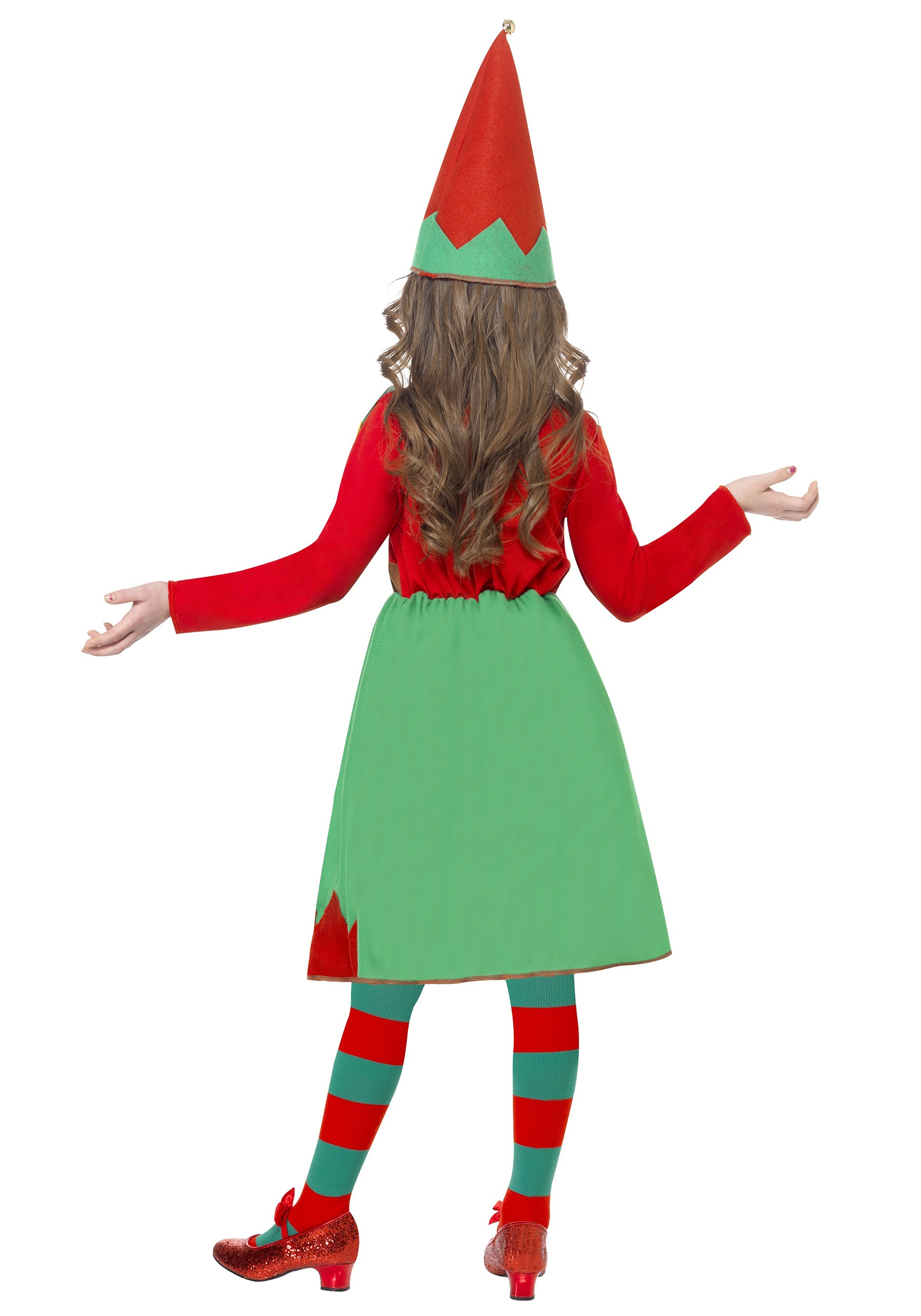 Girls Santa's Little Helper Costume