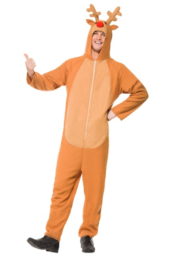 Click Here to buy Adult Reindeer Costume from HalloweenCostumes, USA Funds & Shipping