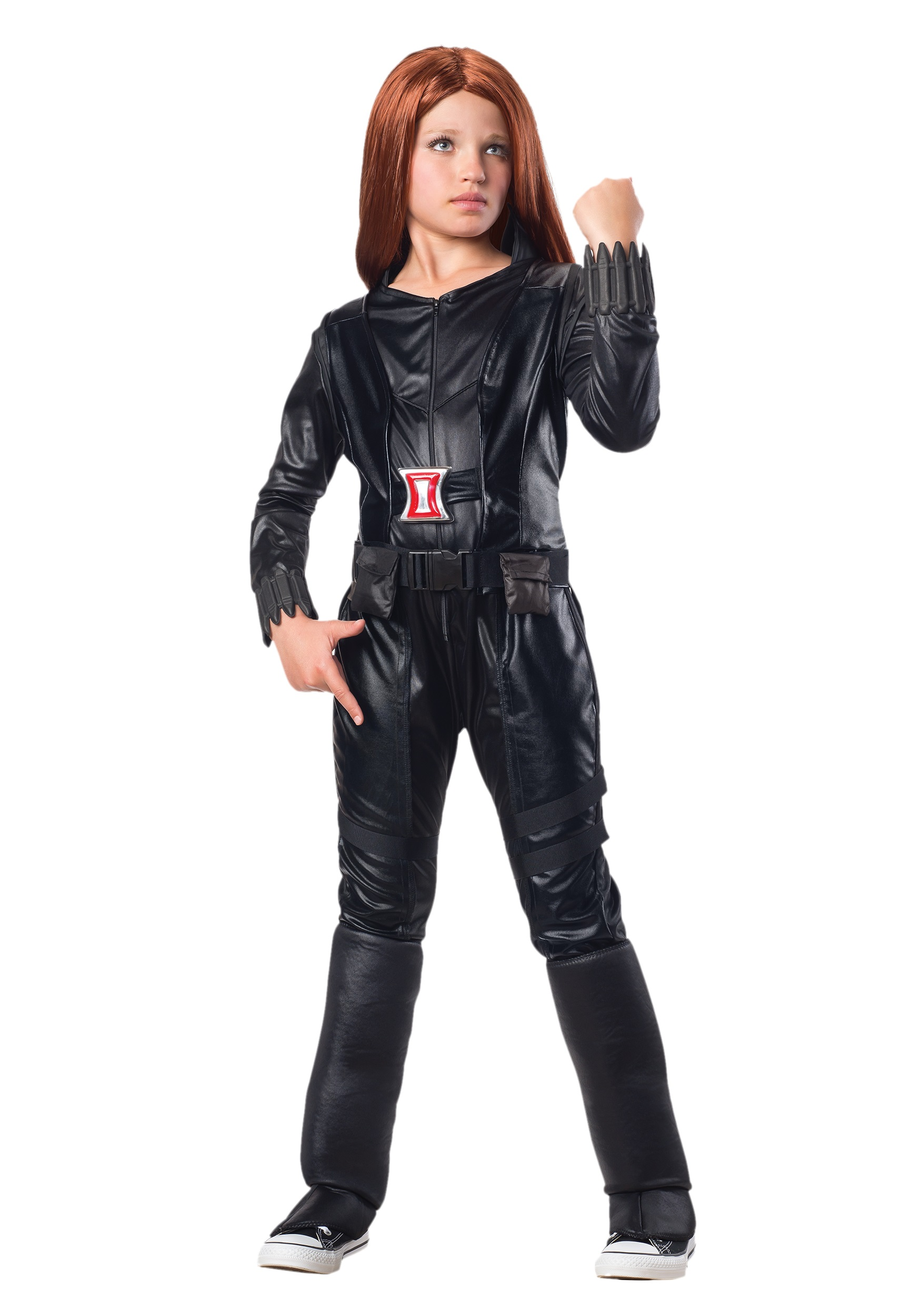 How to make a marvel black widow costume - photo#10
