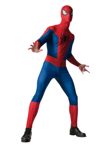 Click Here to buy Adult Classic Spider-Man 2 Costume from HalloweenCostumes, USA Funds & Shipping
