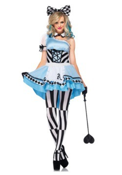 Adult Psychedelic Alice Costume
