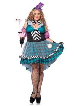 Plus Size Manic Mad Hatter Costume