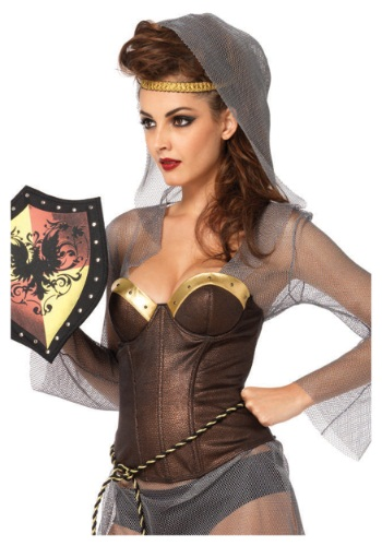Click Here to buy Warrior Armor Bustier from HalloweenCostumes, USA Funds & Shipping