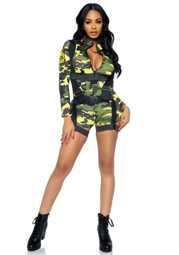 Women's Goin Commando Army Costume