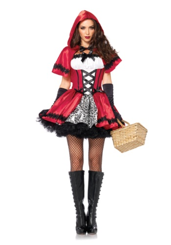 Gothic Red Riding Hood Adult Costume LE85230-L