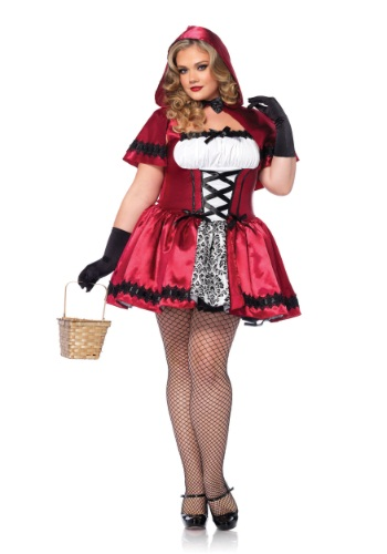 Gothic Red Riding Hood Plus Size Costume By: Leg Avenue for the 2015 Costume season.