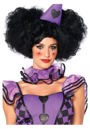 Click Here to buy Red Queen Black Bob Wig from HalloweenCostumes, USA Funds & Shipping