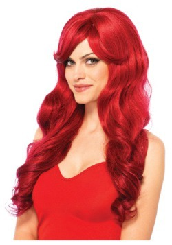Long Wavy Red Wig
