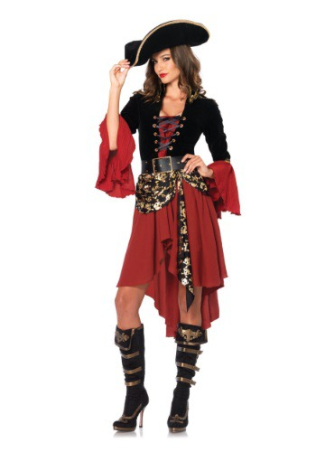 Cruel Seas Captain Adult Costume By: Leg Avenue for the 2015 Costume season.