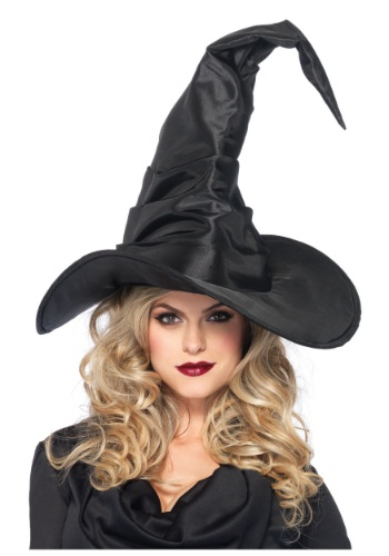 Click Here to buy Large Ruched Witch Hat from HalloweenCostumes, CDN Funds