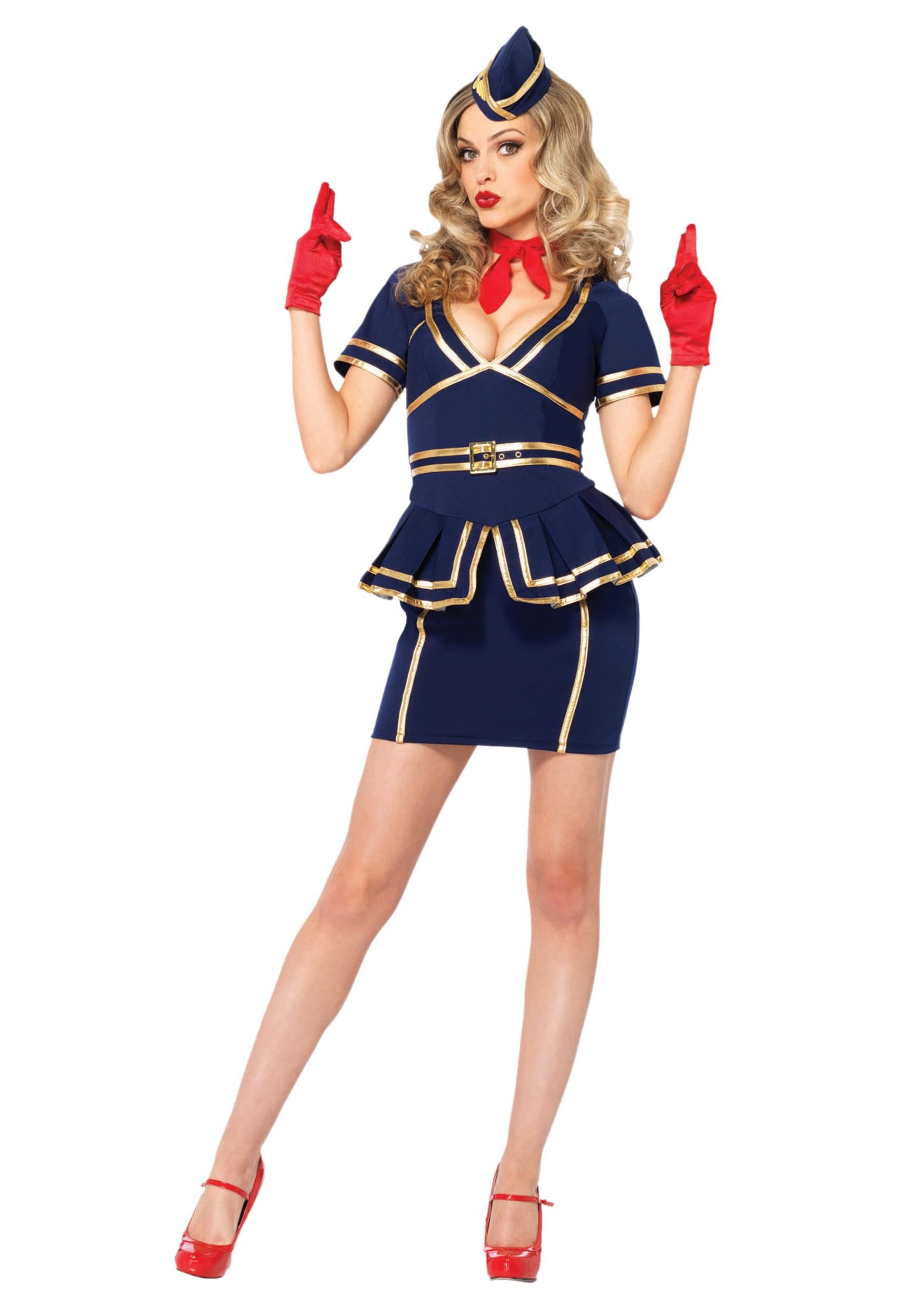 Friendly skies flight attendant costume solutioingenieria Images