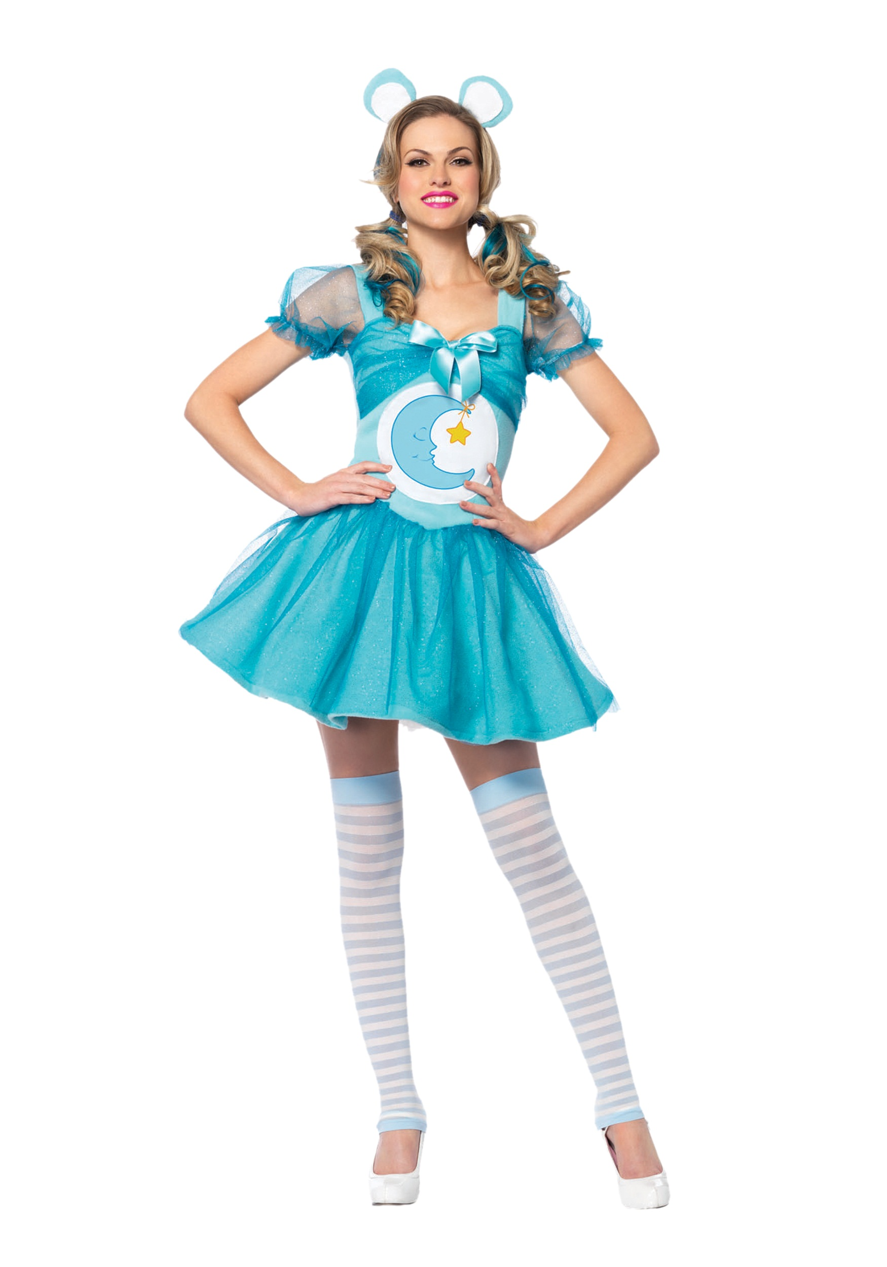 Adult Care Bears Bedtime Bear Adult Costume-2731
