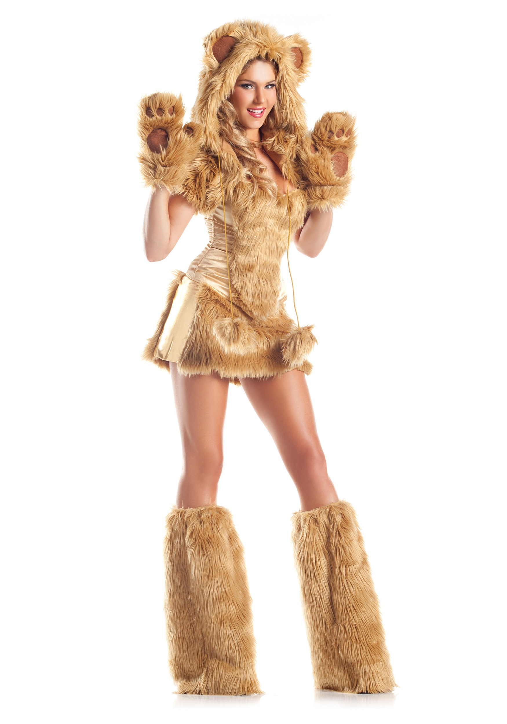 8236042a3674 Womens Deluxe Golden Bear Costume