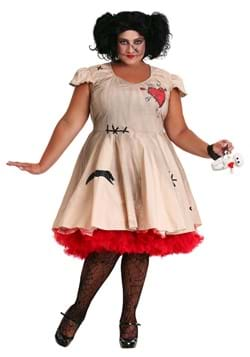 Plus Size Women's Voodoo Doll Costume