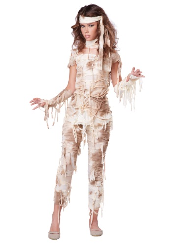 Click Here to buy Teen Mysterious Mummy Costume from HalloweenCostumes, USA Funds & Shipping