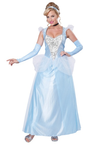 Click Here to buy Womens Classic Cinderella Costume from HalloweenCostumes, USA Funds & Shipping